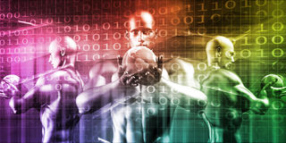 Sicherheits-Netz Lizenzfreie Stockfotos