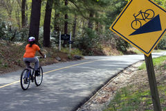 Sicherheits-Radfahren Lizenzfreies Stockbild