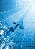 Sicherheits- und Technologiekonzept Stockbilder