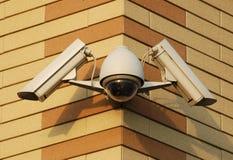 Sicherheits-Videokameras Lizenzfreies Stockfoto