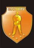 Sicherheits-Zeichen Stockfotografie