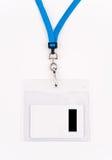 Sicherheits-Zugriff Identifikation-Karte Lizenzfreie Stockbilder