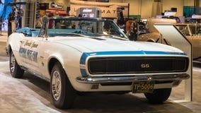 Sicherheitsauto 1967 Chevrolet Camaro SS Indy 500 an SEMA Lizenzfreies Stockbild