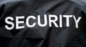 Sicherheitsbeamte Stockfoto