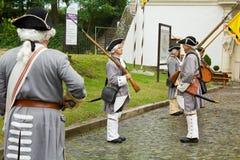 Sicherheitsbeamte der Festung alba Carolina Lizenzfreie Stockbilder