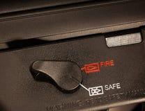 Sturmgewehrsicherheit lizenzfreies stockfoto