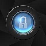Sicherheitsikone Lizenzfreies Stockbild