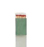 Sicherheitsmatch im grünen Kasten Lizenzfreie Stockbilder