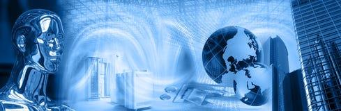 Sicherheitsmontage der künstlichen Intelligenz Lizenzfreies Stockfoto