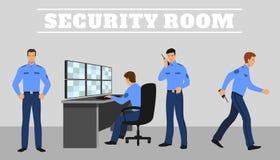 Sicherheitsraum und Arbeitsschutz Innerhalb des Archivs können Sie Dateien in solchen Formaten finden: ENV, ai, Cdr, Jpg Stockfotografie