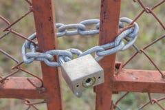 Sicherheitsschloß Lizenzfreie Stockfotografie