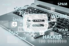 Sicherheitssystem Stockfotografie