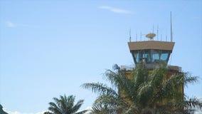 Sicherheitsturm, Conakry-Hafen, Guinea stock video footage