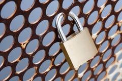 Sicherheitsverriegelung lizenzfreies stockfoto