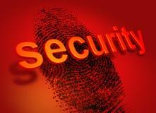Sicherheitswarnung Lizenzfreies Stockbild