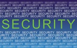 Sicherheitswarnung Stockfoto