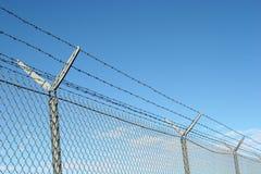 Sicherheitszaun Lizenzfreies Stockbild