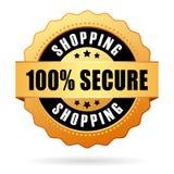 Sichern Sie das Einkaufen Lizenzfreie Stockbilder