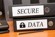 Sichern Sie Daten lizenzfreie stockfotografie