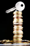 Sichern Sie Geld Stockfoto