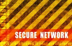 Sichern Sie Netz Lizenzfreies Stockfoto