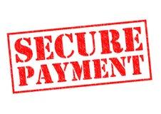 Sichern Sie Zahlung Lizenzfreie Stockbilder
