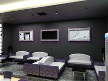 Sichtbarmachung 3D einer Innenarchitektur der Stange Lizenzfreies Stockfoto