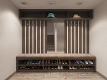 Sichtbarmachungshallen-Treppenhaushalle Stockfoto