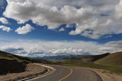 Sichuan Θιβέτ κρατικός δρόμος Στοκ Φωτογραφίες