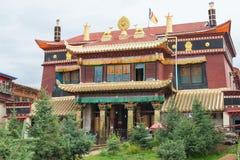 SICHUAN, ΚΙΝΑ - 15 ΙΟΥΛΊΟΥ 2014: Ναός Degongbu (ναός Hans Στοκ εικόνες με δικαίωμα ελεύθερης χρήσης