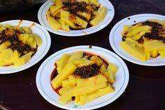 Κινεζική ζελατίνα φασολιών Στοκ Εικόνα