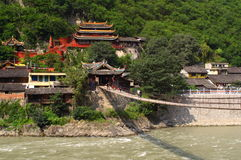 Sichuan. Asia china traveling  mountain scenery Royalty Free Stock Photography