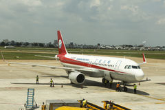 Sichuan Airlines Images stock
