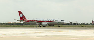 Sichuan Airlines Chine Photo libre de droits