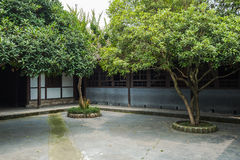 Sichuan ancient courtyard Stock Images