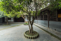 Sichuan ancient courtyard Royalty Free Stock Photography
