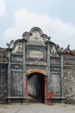 Sichuan AnRen ancient buildings Royalty Free Stock Photo