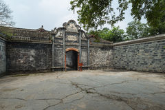 Sichuan AnRen ancient buildings Royalty Free Stock Image