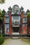 Sichuan AnRen ancient buildings Stock Photo