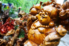 Sichuan-Buddhist-Kunst Stockbild