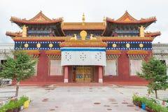 SICHUAN, CHINA - 15 JULI 2014: Wit Pagodepark een beroemde landma Royalty-vrije Stock Foto's