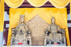 Free SICHUAN, CHINA - Mar 29 2015: Statues Of Wu Zetian And Emperor G Stock Photo - 90772300