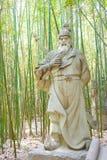 SICHUAN, CHINA - Mar 28 2015: Huang Zhong Statue at Zhaohua Anci Stock Images