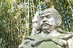 SICHUAN, CHINA - Mar 28 2015: Huo Jun Statue at Zhaohua Ancient Royalty Free Stock Photography