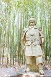 SICHUAN, CHINA - Mar 28 2015: Jiang Wei Statue at Zhaohua Ancien Stock Photo