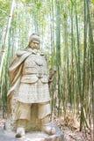 SICHUAN, CHINA - Mar 28 2015: Jiang Wei Statue at Zhaohua Ancien Royalty Free Stock Photo