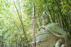 SICHUAN, CHINA - Mar 28 2015: Ma Chao Statue at Zhaohua Ancient Royalty Free Stock Photo