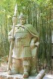 SICHUAN, CHINA - Mar 28 2015: Ma Chao Statue at Zhaohua Ancient Royalty Free Stock Photos
