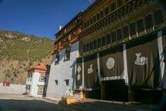 Sichuan des China-Tibetanertempels Lizenzfreies Stockfoto