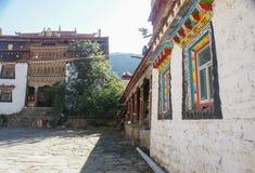 Sichuan des China-Tibetanertempels Stockbilder